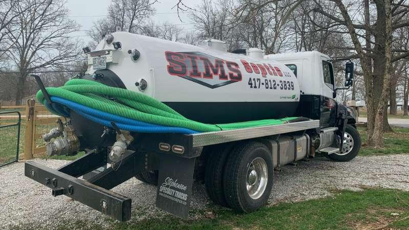 lift station pumping Sims Septic LLC